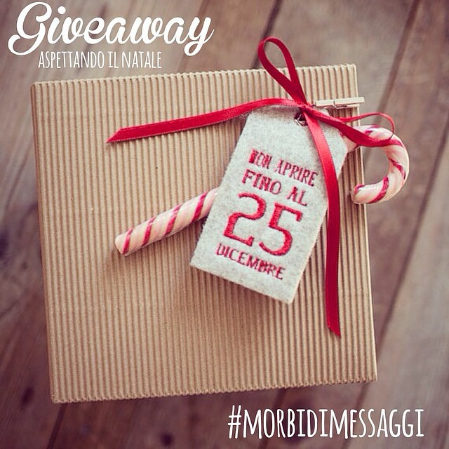 Eccomi!  Buon pomeriggio a tutti ☺ @ilricamificiofornidisopra #repost #regram #morbidimessaggi #natale #waitingchristmas #sundaymood #diy #giveaway #happymoments #like